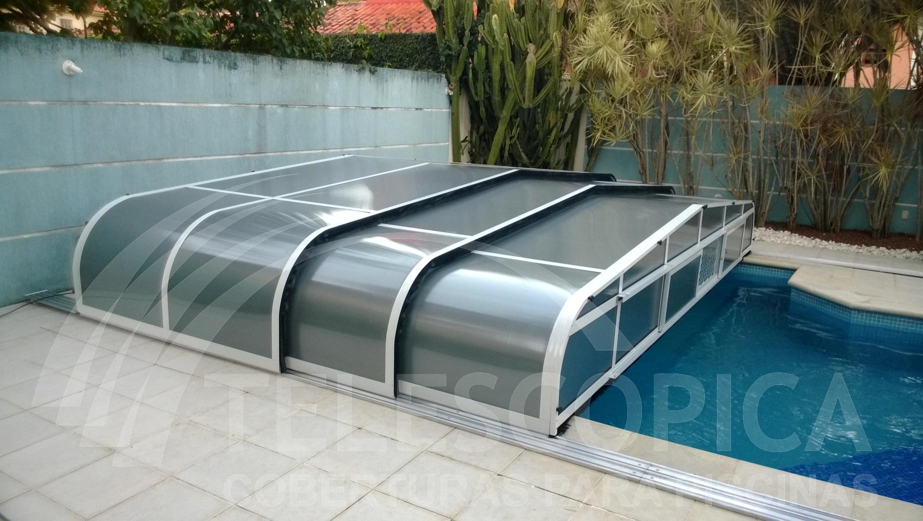 Cobertura piscina for Cobertura piscina