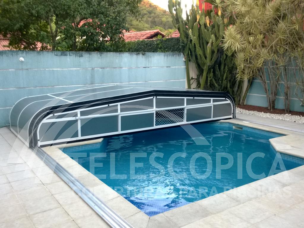 Cobertura para piscina for Cobertura piscina
